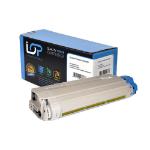 Click, Save & Print Remanufactured Oki 44318605 Yellow Toner Cartridge