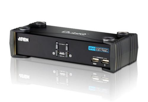 Aten CS1762A KVM switch Black
