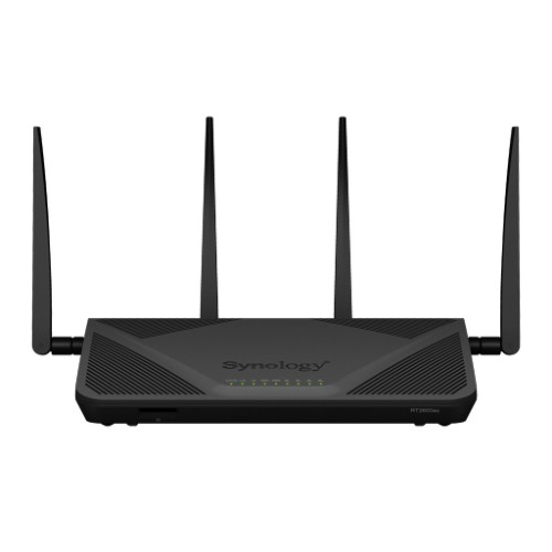 Synology RT2600AC Dual-band 2.4GHz/5GHz Gigabit Ethernet Wireless Router