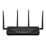 Synology RT2600AC Dual-band (2.4 GHz / 5 GHz) Gigabit Ethernet Black wireless router