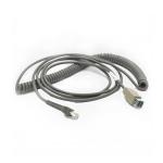 Zebra CBA-U08-C15ZAR USB cable 4.5 m USB A Grey