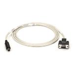 Black Box Mini DIN/DB9, 1.8m printer cable Ivory