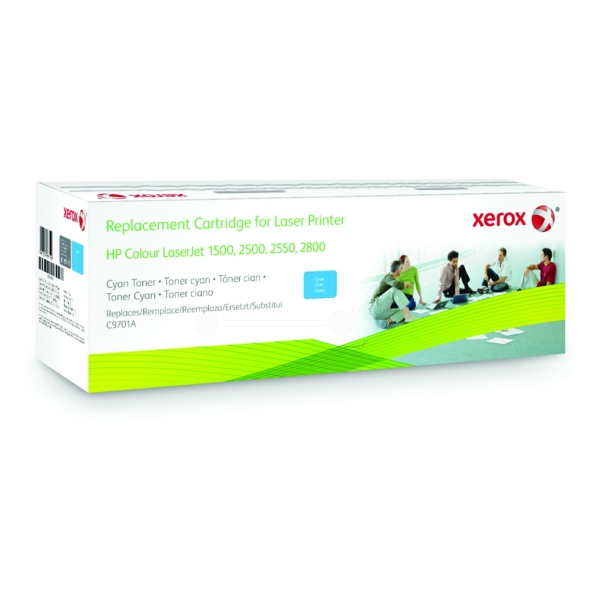 Xerox 003R99719 compatible Toner cyan, 4K pages @ 5% coverage (replaces HP 121A)