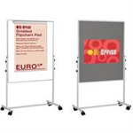 Bi-Office DUO EASEL 120X79CM GREY FELT