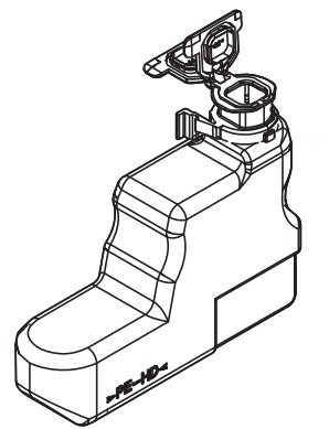 KYOCERA 302LV93020 (WT-3100) Toner waste box