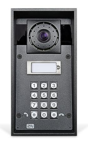 2N Telecommunications IP Force video intercom system Black