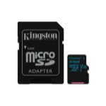 Kingston Technology Canvas Go! memory card 64 GB MicroSDXC Class 10 UHS-I