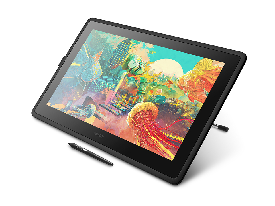 Wacom Cintiq DTK2260K0A graphic tablet Black