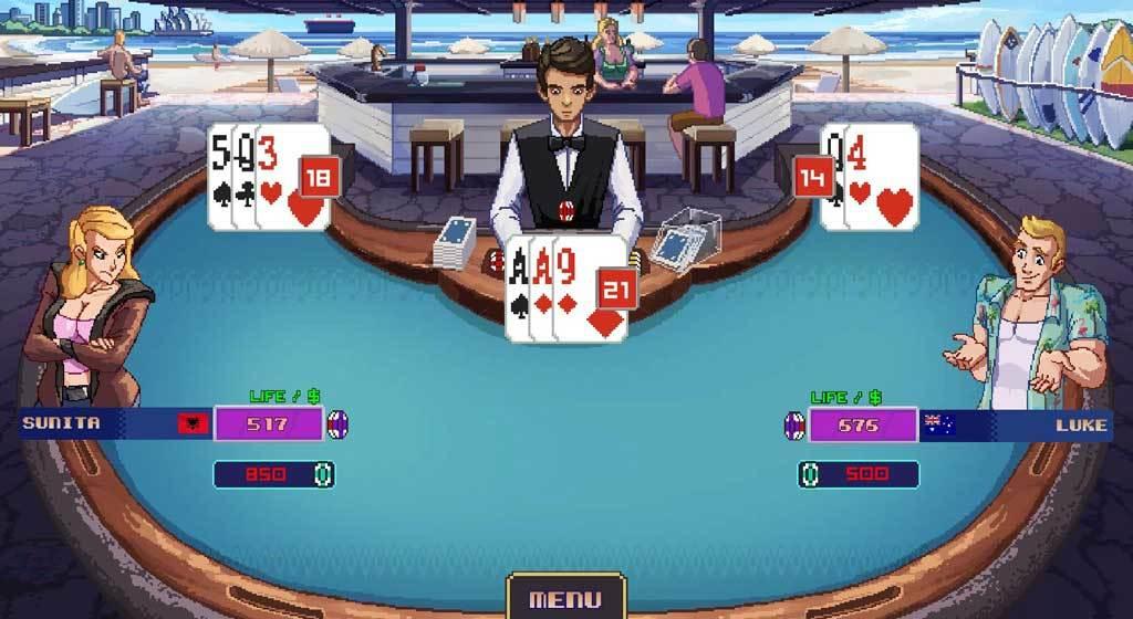 Nexway Super Blackjack Battle 2 Turbo Edition - The Card Warriors vídeo juego PC Avanzado Español