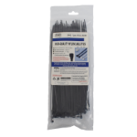 Evo Labs 2.5X200MM BLACK cable tie Nylon 100 pc(s)