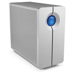 LaCie 2big Quadra USB 3.0 8000GB Desktop Aluminium disk array