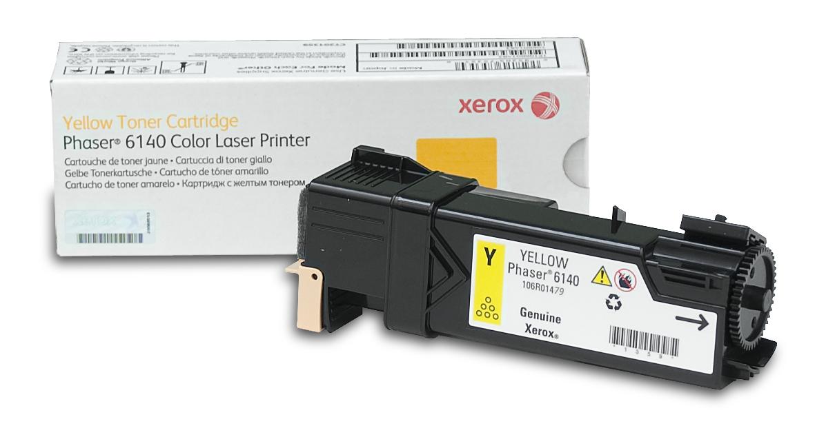 Xerox Phaser 6140, Cartucho de tóner amarillo de capacidad normal (2.000 páginas)