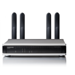 Lancom Systems L-322AGN 300Mbit/s Power over Ethernet (PoE) Black,Silver WLAN access point