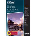 Epson Matte Paper Heavy Weight - A4 - 50 Vellen