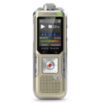 Philips Voice Tracer 6500 Flash card Silver dictaphone