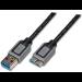 ASSMANN Electronic 1.8m USB 3.0 cable USB 1,8 m 3.2 Gen 1 (3.1 Gen 1) USB A Micro-USB B Negro, Gris