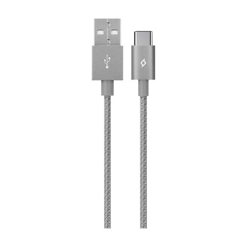 Ttec AlumiCable USB cable 1.2 m USB C USB A Grey