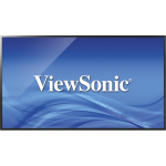"Viewsonic CDE4302 Digital signage flat panel 43"" LED Full HD Black signage display"