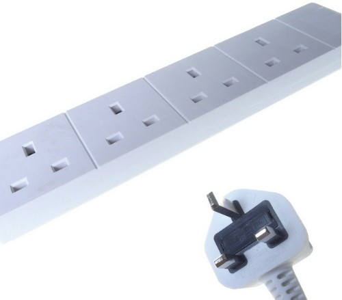 Connekt Gear 27-4020 power distribution unit (PDU) White 4 AC outlet(s)