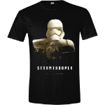 Star Wars VII Men's The Force Awakens StormTrooper - Rule The Galaxy T-Shirt, Extra Extra Large, Black (CD135S