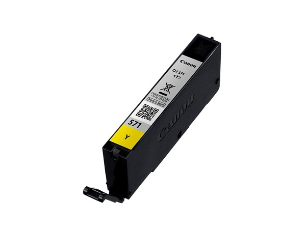 Canon 0388C001 (CLI-571 Y) Ink cartridge yellow, 323 pages, 7ml