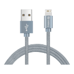 Sandberg Excellence Lightning 1m Grey mobile phone cable