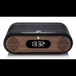 ViewQwest Rosie Lee radio Clock Analog & Digital Black,Walnut