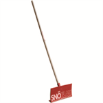 Red Snoblad Snow Shovel (1500mm Handle) 387979
