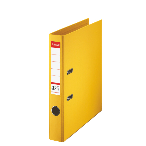 Esselte 811410 Ring Binder A4 Yellow, 181 In Distributor