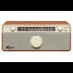 Sangean WR-12 Portable Analog Walnut Clock/Portable Radio