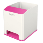 Leitz 53631023 Polystyrene Pink, White pen/pencil holder