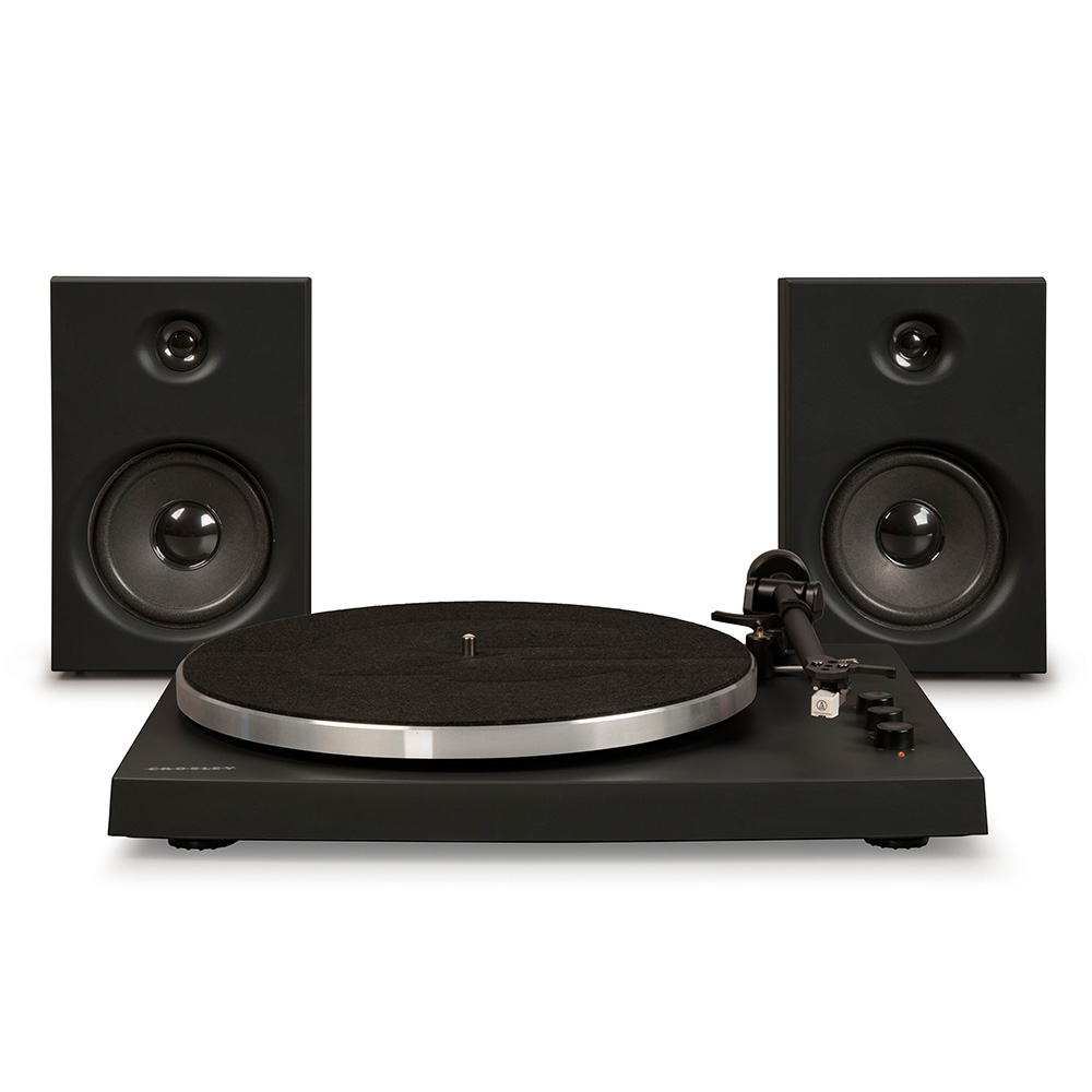 Crosley T150 Turntable - Black