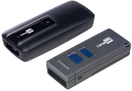 CipherLab 1664 Handheld CCD Black