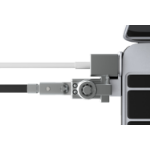 Maclocks MacBook Lock Bracket Silver cable lock
