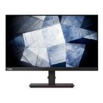 """Lenovo ThinkVision P24q-20 60.5 cm (23.8"""") 2560 x 1440 pixels Quad HD LED Black"""