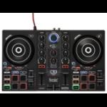 Hercules Inpulse 200 DJ-controller Zwart