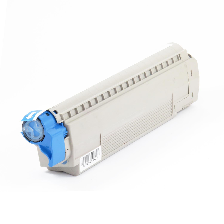 Remanufactured OKI 44059255 Cyan Toner Cartridge
