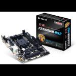 Gigabyte GA-F2A68HM-DS2 motherboard Socket FM2+ AMD A68H micro ATX