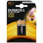 Duracell Plus Power Alkaline Pack of 1 9V Battery