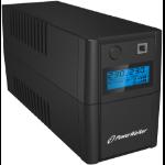 PowerWalker VI 650SE LCD/IEC uninterruptible power supply (UPS) Line-Interactive 650 VA 360 W 4 AC outlet(s)