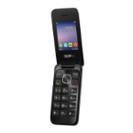 "Alcatel 2051X 6.1 cm (2.4"") 97 g Black,Silver"