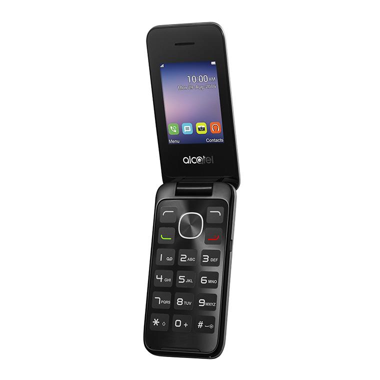 """Alcatel 2051X 6.1 cm (2.4"""") 97 g Black,Silver"""