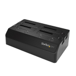 "StarTech.com 4-bay SATA HDD dockingstation voor 2.5""/3.5"" SSDs/HDDs USB 3.1 (10Gbps)"