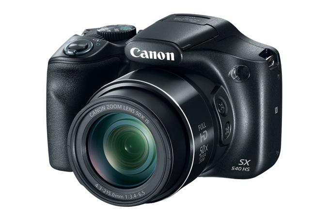 "Canon PowerShot SX540 HS Cámara puente 20,3 MP CMOS 5184 x 3888 Pixeles 1/2.3"" Negro"