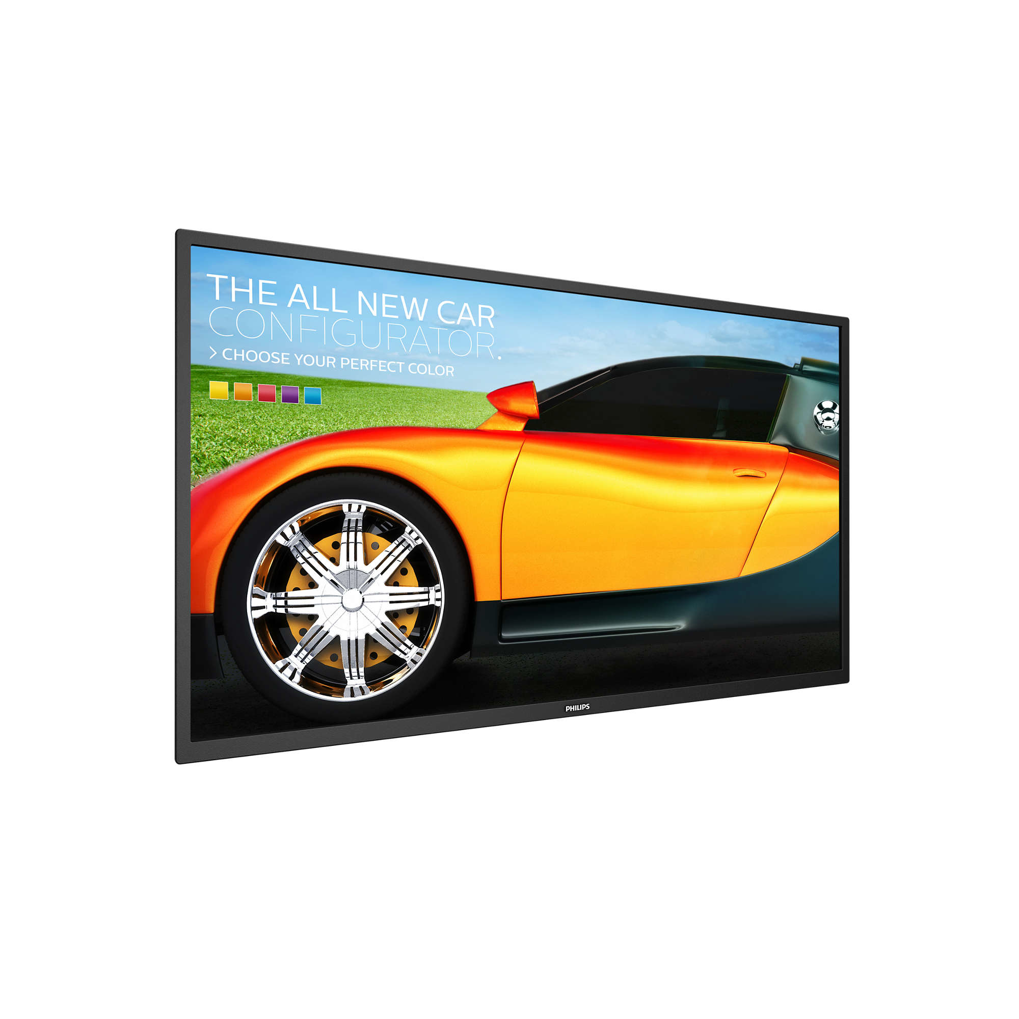 "Philips Signage Solutions BDL3230QL/00 Digital signage flat panel 31.5"" LED Full HD Black signage display"
