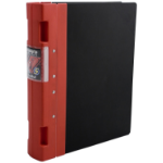 Guildhall GLX Ergogrip Ring Binder 4-Ring 55mm A4 Red PK2