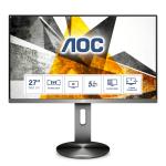 """AOC 90 Series U2790PQU computer monitor 68.6 cm (27"""") 3840 x 2160 pixels 4K Ultra HD LED Grey"""