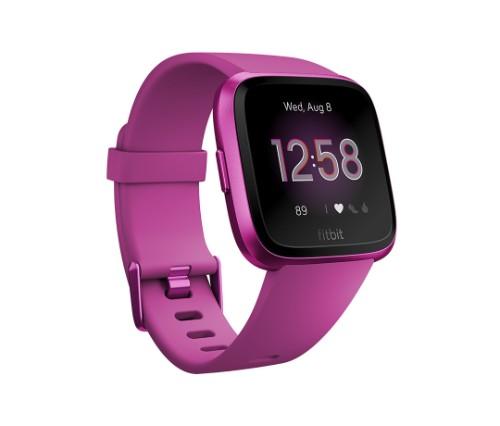 Fitbit Versa Lite smartwatch Purple LCD