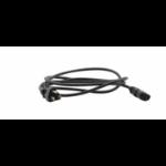 Kramer Electronics C-AC/UK power cable Black 1.8 m