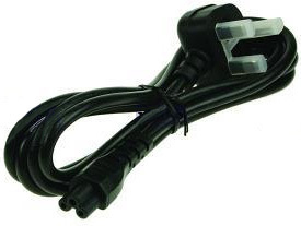2-Power PWR0004A power cable Black C5 coupler